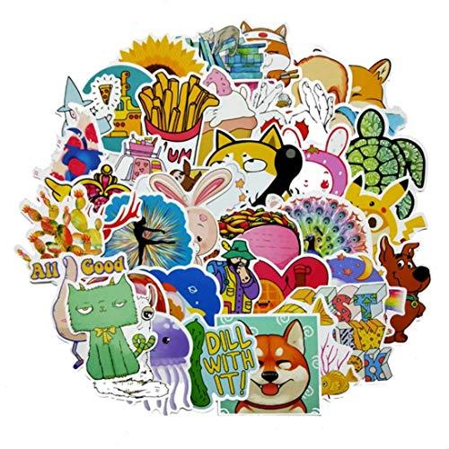 yangzhoujinbei glamoureuze Animal Vinyl Laptop Skateboard Stickers Bagage Decals Dope Sticker