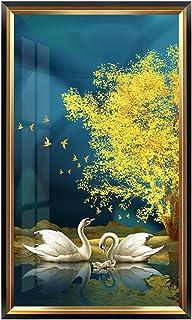 ملصقات الحائط الجداريات جدار الفن اللوحة الحديثة الشرفة اللوحة الرأسي نسخة لاكي فينغ شوي منزل جديد ديكور المنزل شنقا صورة ...