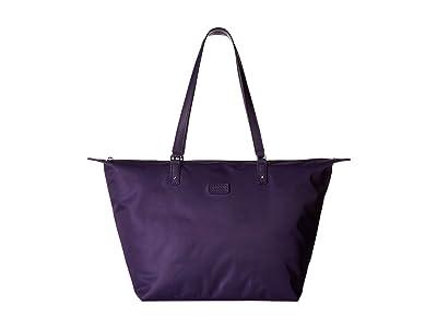 Lipault Paris Lady Plume Tote Bag M (Light Plum) Bags