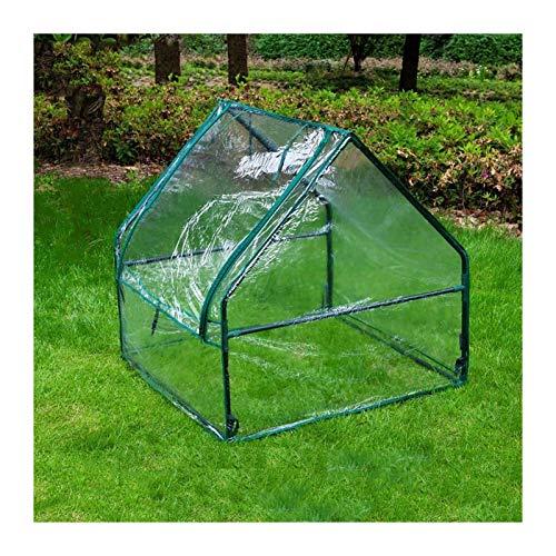 Invernadero De Jardín Guerde De Invernadero De Planta Portátil, Protección De Invernaderos De Protección contra Heladas, Jardín De Jardinería Exterior con Caja De Plástico