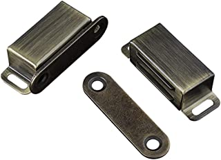 Cabinet Door Catch with Strong Magnetic, Bronze (Pack of 2)
