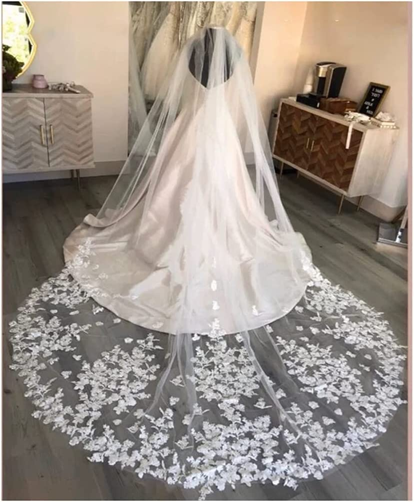 YYOBK Ts Church Long Wedding Veil Sale with 5 3 Meters 4 Sales for sale L Comb