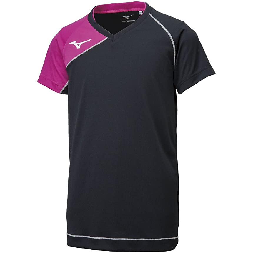 起きる銀河慢性的[ミズノ] バレーボールウエア ゲームシャツ(半袖) V2MA8001