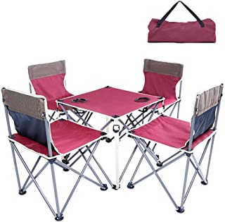 Amazon.es: mesa plegable camping con sillas - Sillas ...