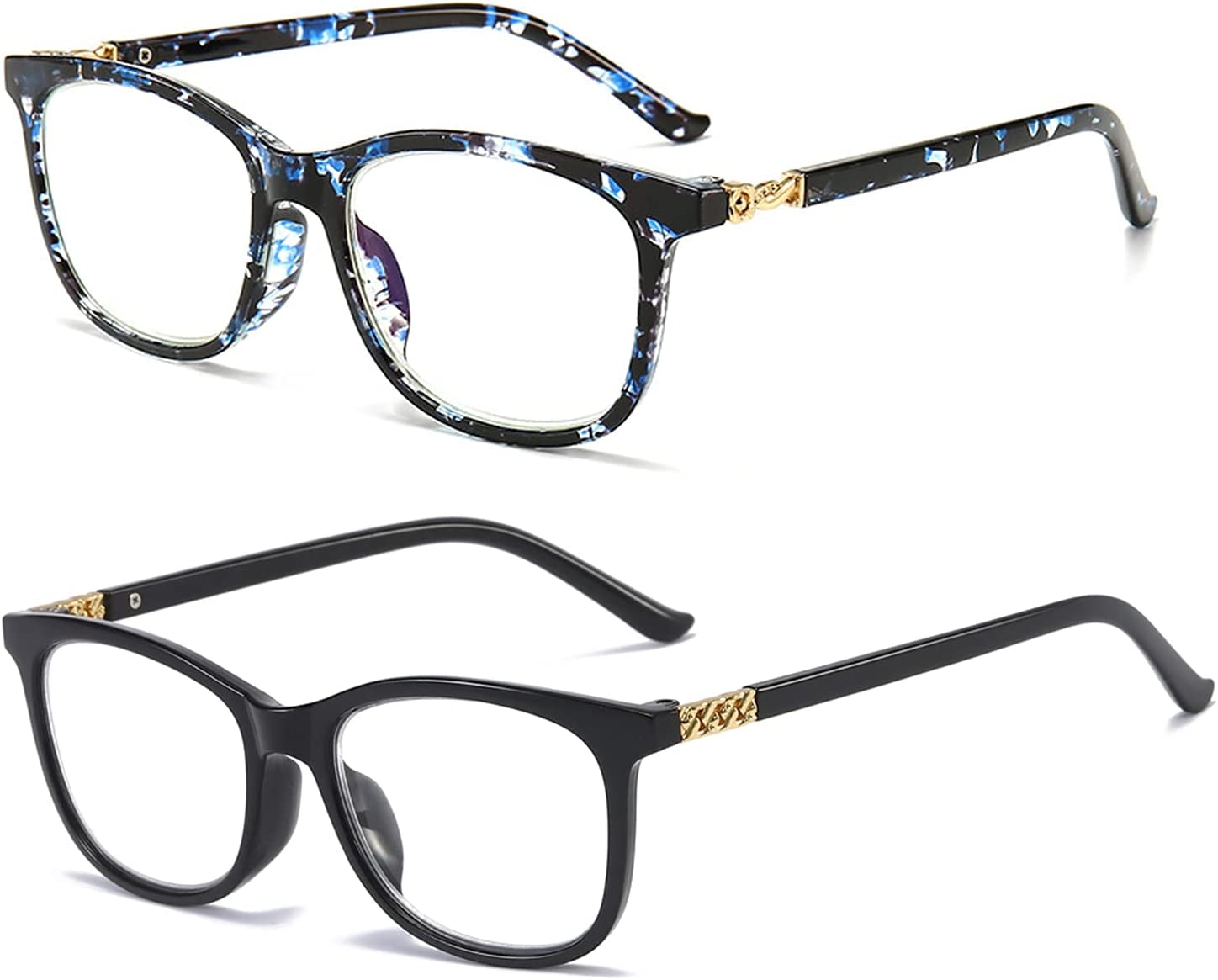 Reading Glasses Women Blue Max 48% OFF Light Blocking Online limited product x Computer Reader 3.0