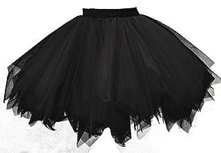 emondora Women's Tutu Tulle Petticoat Ballet Bubble Skirts Short Prom Dress Up