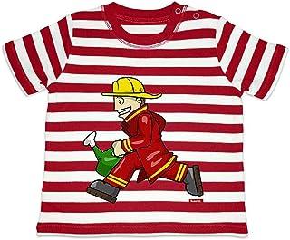 vigili del fuoco rosso Rosso pompieri 0-3 Mesi HARIZ motivo Body a maniche corte