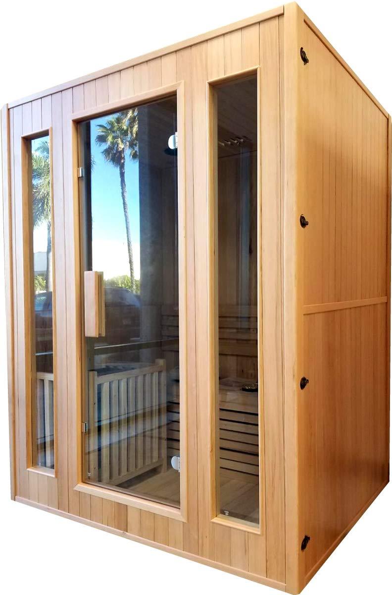 Canadian Hemlock Traditional Swedish Sauna