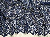 Zierrand Couture Brautschmuck schwere Guipure-Spitze Stoff,