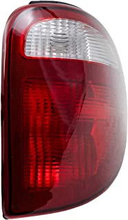 Tail Light 04-07 Dodge Caravan 04-07 Chrysler Town & Country Passenger Side Tail Lamp Replaces 68241334AA
