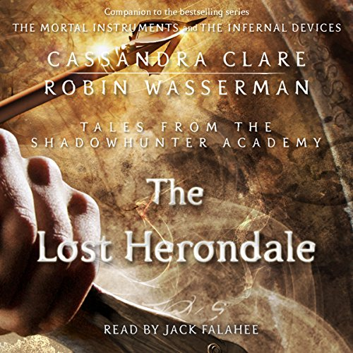 The Lost Herondale audiobook cover art