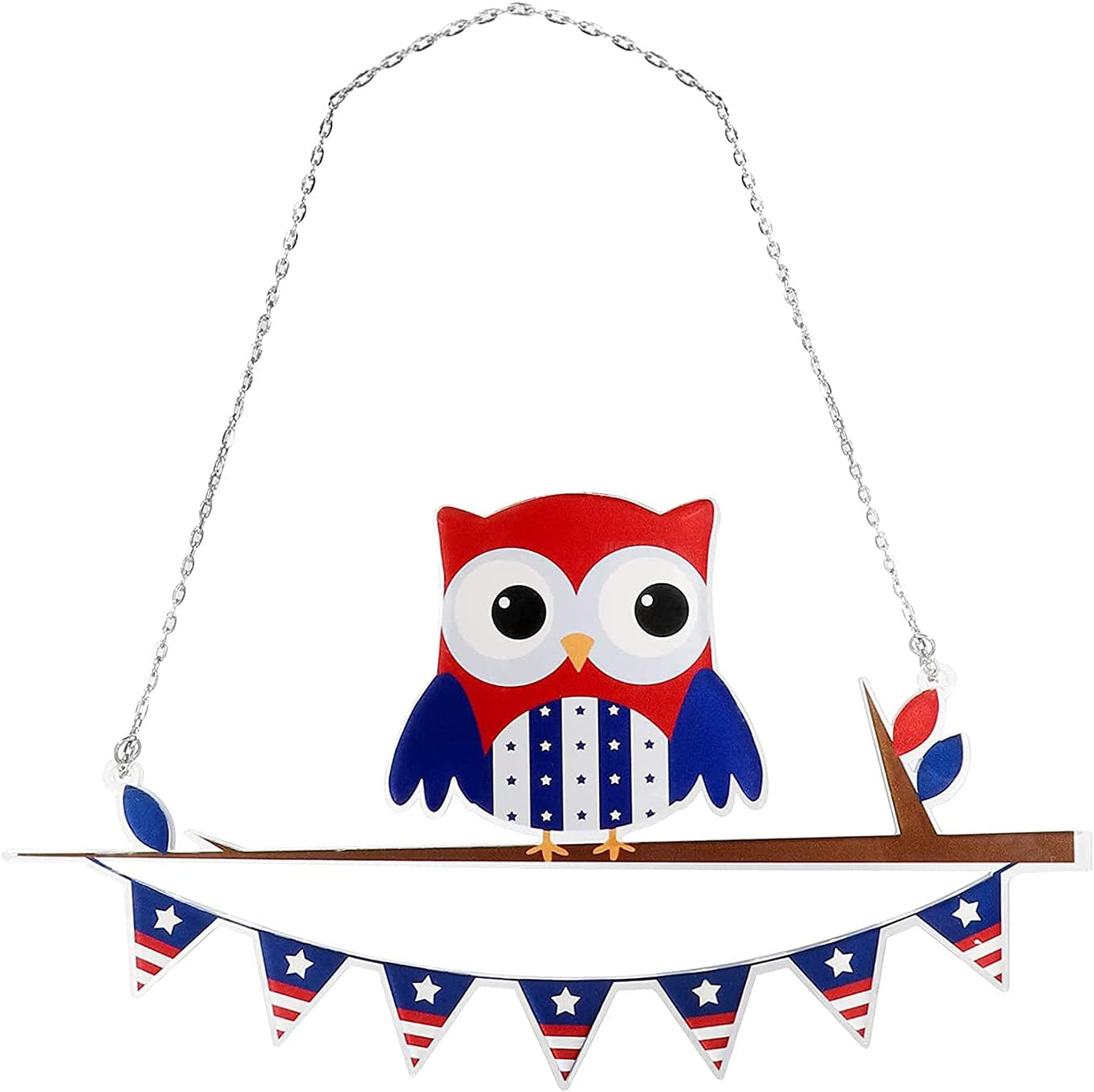 Metal Owl Ornaments Multicolor Birds New Orleans Mall Suncatcher on Max 64% OFF Wire a