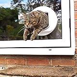 SureFlap DualScan Katzenklappe weiß - 4
