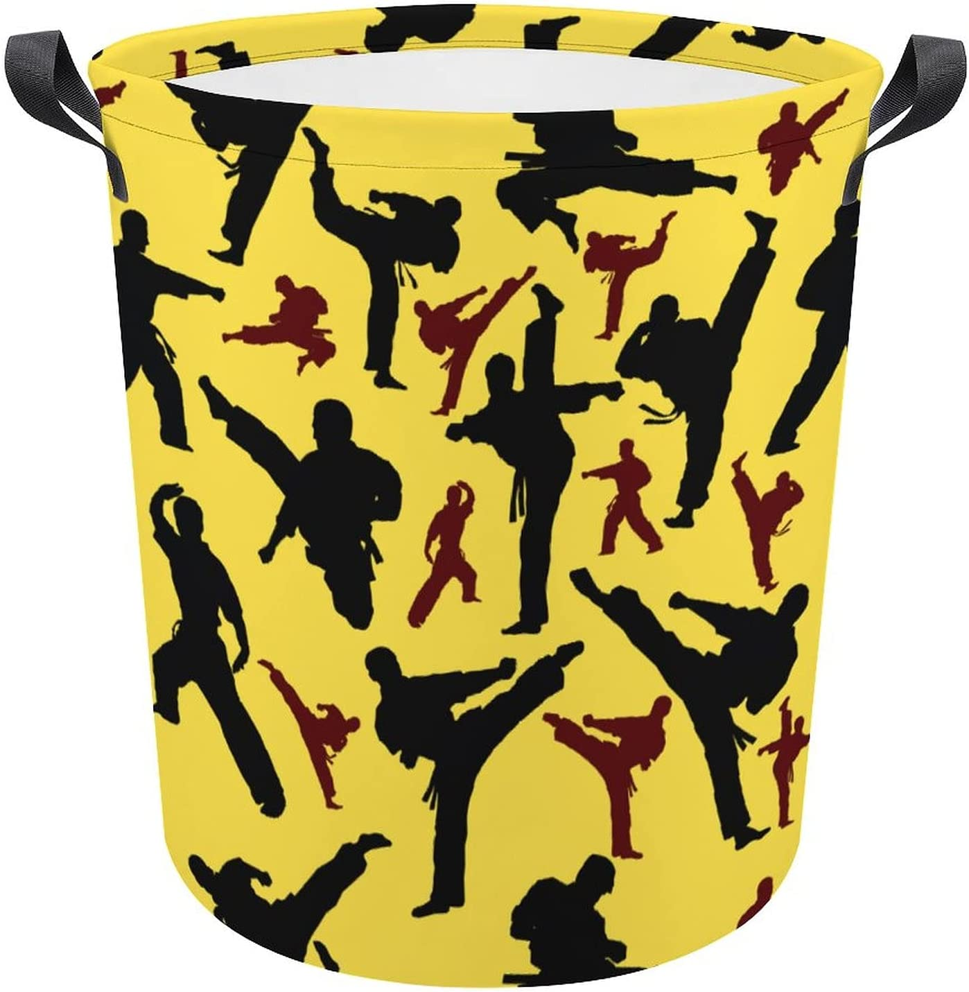 Funny Martial Arts Karate discount on Yelow Hamper Gift Oxford Laundry Po shipfree