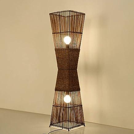 Amazon.es: lampara mimbre - Lámparas de pie / Lámparas ...