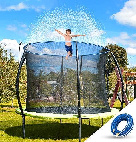 NEOROD Trampoline Water Sprinkler for Kids Outdoor Water Play Heavy Duty Sprinklers Hose Backyard product image