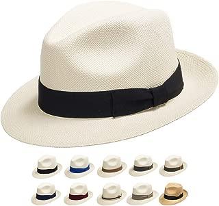 Genuine Havana Retro Panama Straw Hat Classic Lightweight