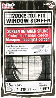 Prime-Line Products P 7517 Screen Retainer Spline, .130-in, 25-ft, Black