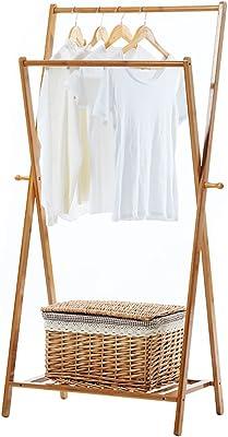 Amazon.com: SPLY DTEM Solid Wood Childrens Floor Coat Rack ...