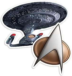 Popfunk Star Trek Next Generation Enterprise NCC-1701D Collectible Stickers
