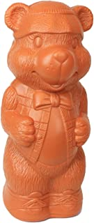 Honey Bear Money Bank: Large Plastic Blow-Mold Design - Classic Retro Design by Fantazia Marketing