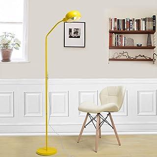 MUMUMI Lampadaires, Lampe Sur Pied En Métal Led Lampe de Sol de Protection Des Yeux, Bureau/Chambre/Étude/Travail/Bureau/L...