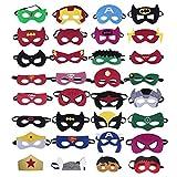 Harxin 32 Piezas Máscaras de Superhéroe Máscara, Fiesta de...