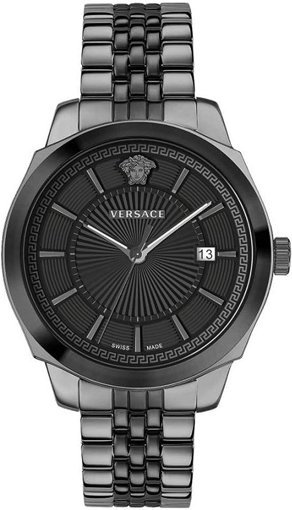 Versace herren armbanduhr orologio da uomo in acciaio inossidabile VEV9005 19