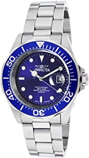 Invicta Pro Diver For Men Blue Dial Stainless Steel Band Watch - INVICTA-9308