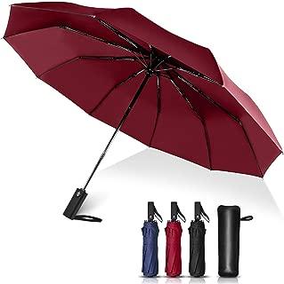 折りたたみ傘 自動開閉 大きい おりたたみ傘 メンズ レディース 風に強い 10本骨 超撥水 折り畳み傘 高強度グラスファイバー親骨 ケース付き