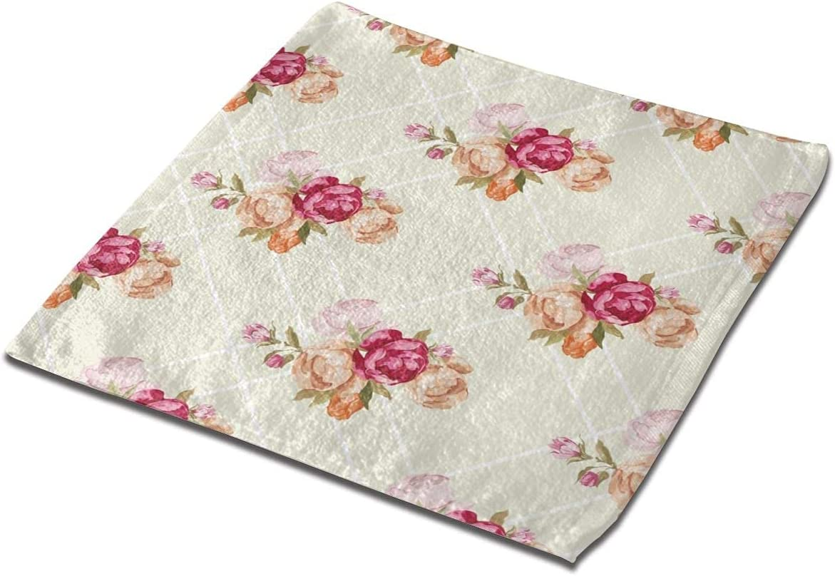 LuckyTagy Washcloth Towel Ranking TOP19 Amazing Floral Max 45% OFF F Seamless Square