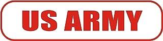 INDIGOS UG   Magnetschild US Army 30 x 8 cm   Magnetfolie für Auto/LKW/Truck/Baustelle/Firma