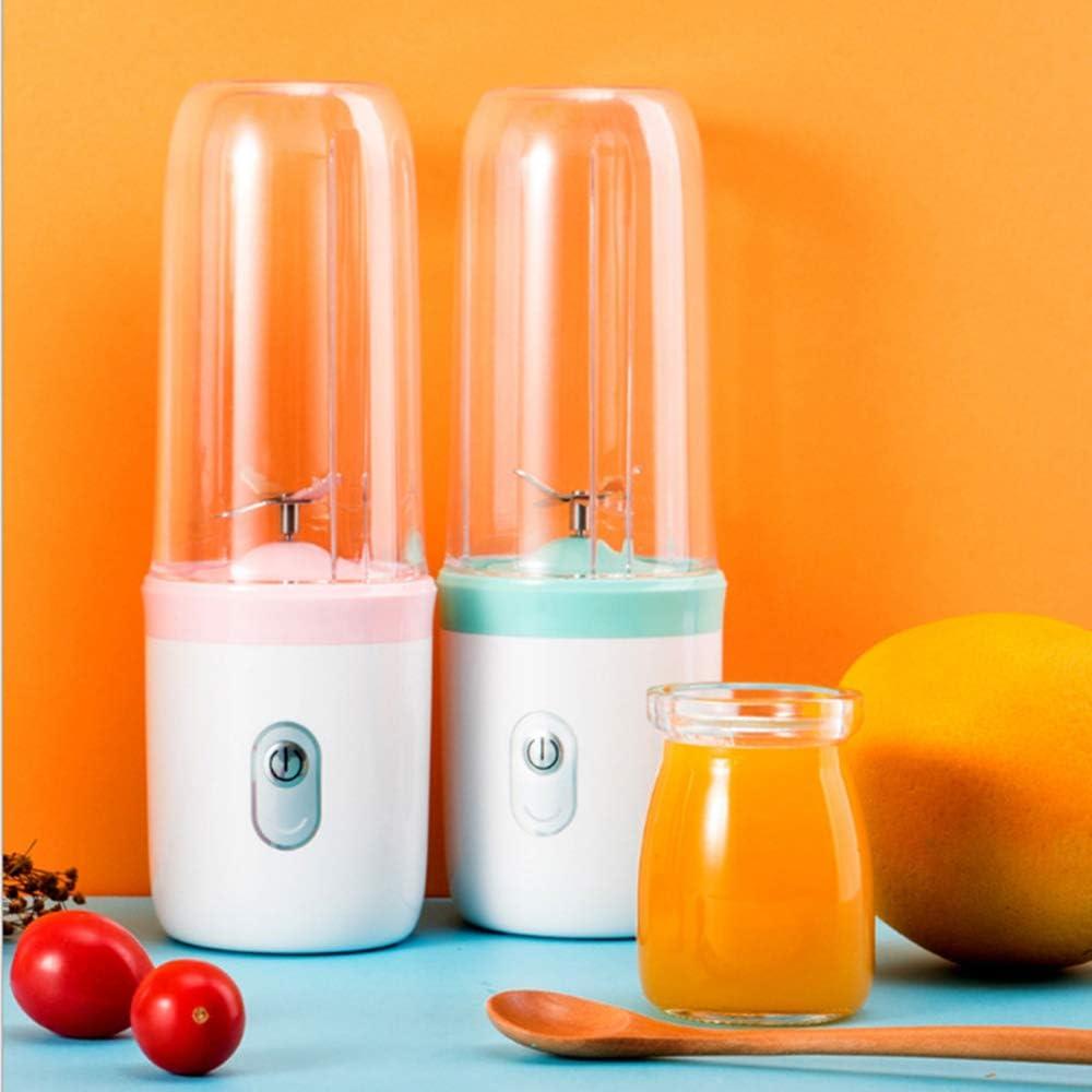 Licuadora Exprimidor Eléctrico Portátil Copa Portable Creativo del Jugo Mini Exprimidor Material Multifuncional De Frutas Copa Pink