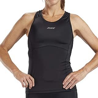 Zoot Women's Core Racerback Tri Tank - Performance Triathlon Top with Built-in Bra and Endura Fabric