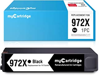 myCartridge Re-Manufactured Ink Cartridge Replacement for HP 972X 972 XL (1 Black) High Yield Fit HP PageWide Pro 477dn 477dw 577dw 577z 452dn 452dw 552dw Upgraded Chip