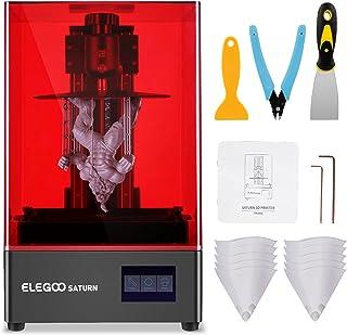 ELEGOO Saturn Impresora 3D MSLA Impresora 3D de LCD 4K Pantalla Monocromática de 6 Pulgadas Impresión Fuera de Línea o LAN...