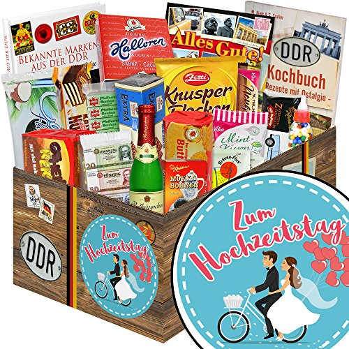 Zum Hochzeitstag / Ost Süßigkeiten / Geschenk zum Hochzeitstag für Eltern