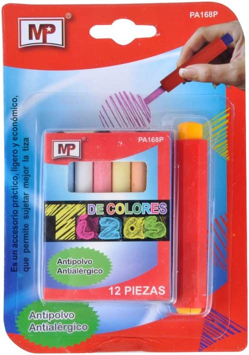 MP pa168p–Pack Special sale item of All items in the store Chalks. 12Coloured