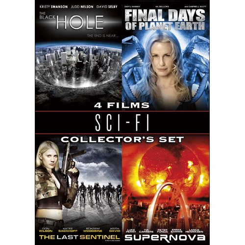 Sci-Fi Collector's Set (The Black Hole / Final Days of Planet Earth / The Last Sentinel / Supernova)