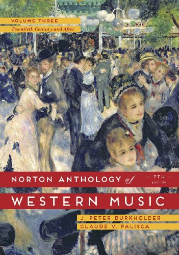 Price comparison product image The Norton Anthology of Western Music (Seventh Edition) (Vol. Volume 3)