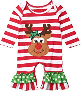 Best newborn baby girl christmas clothes Reviews