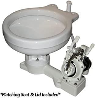 Raritan Fresh Head - Fresh Water Flush - Manual - Marine Size - Right Hand Operation Marine , Boating Equipment