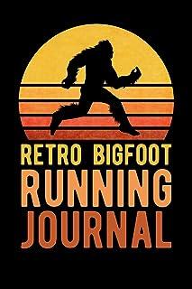 Retro Bigfoot Running Journal