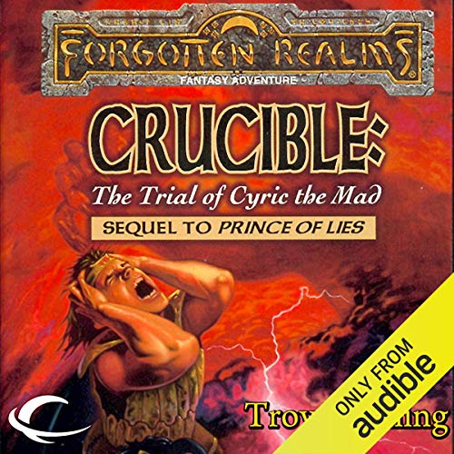 Crucible: The Trial of Cyric the Mad cover art