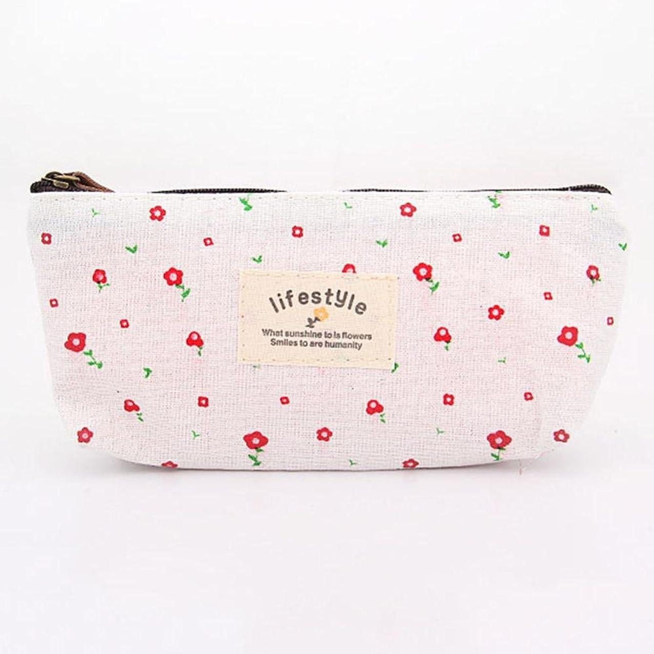 ケント特許伝染病Gressu(TM)ストレージポーチ財布スウィートフラワー花鉛筆ペンケース化粧品メイクアップツールバッグのベストセラー