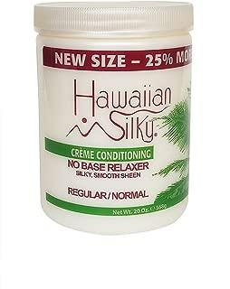 Hawaiian Silky no base relaxer, regular, White, 20 Ounce