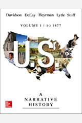 US: A Narrative History Volume 1: To 1877 Paperback