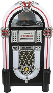 Popular Large Vinyl Jukebox Turntable, CD, USB/SD,Radio,Bluetooth CD Player