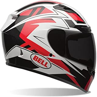 Bell Qualifier DLX Full-Face Motorcycle Helmet (Clutch Red, Small)