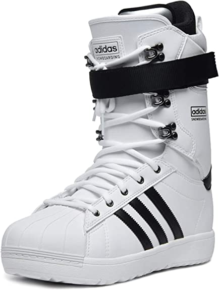 adidas Superstar ADV Chaussures de Snowboard Blanches Homme ...